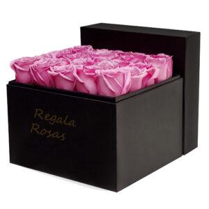 regala rosas rosadas a domicilio en santiago