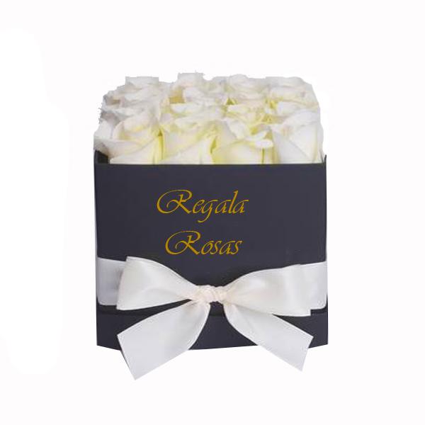 Regala Rosas Blancas a domicilio en santiago