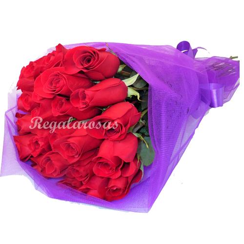Ramo rosas rojas a domcilio en santiago