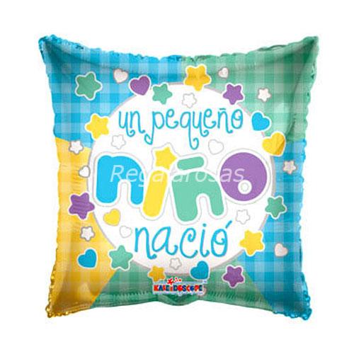 Globo con Aire Nacimiento niño a domicilio en santiago