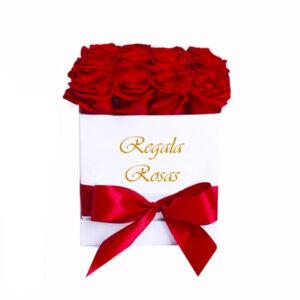 Caja con 24 Rosas Rojas a domicilio en santiago