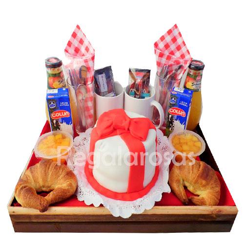 Desayuno para Compartir a domicilio en santiago