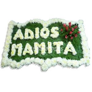 Cuadro con floral de maules rosas liliums a domicilio en santiago