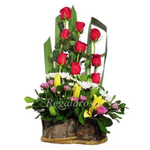 Arreglo Floral Rosas Rojas Amor Regala Rosas a domcilio en santiago