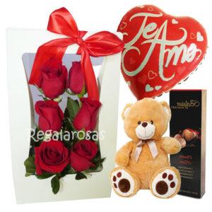 Flores día del amor