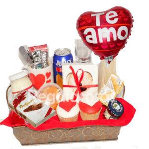 Desayuno con Amor a domicilio en santiago