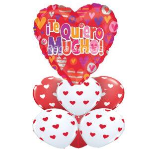 Bouquet de globos Aire te quiero a domicilio en santiago