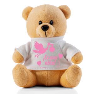 oso de peluche nacimiento niña a domicilio en santiago