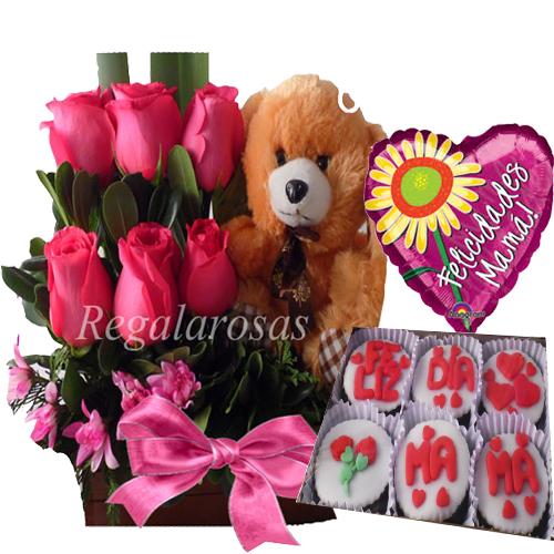 Rosas Rosadas para Dia de la Madre