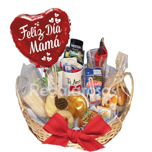 Canasta Para desayunar Dia de la Madre