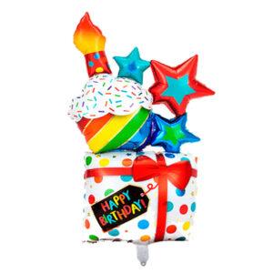 Globo helio de cumpleaños