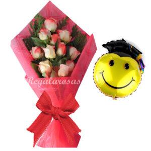 Flores para graduación