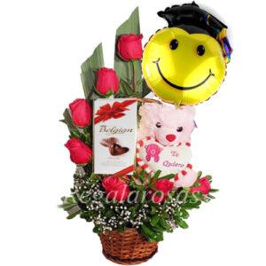 Flores para graduación a domicilio en Santiago.