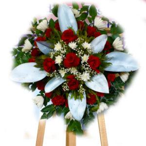 Flores de condolencia