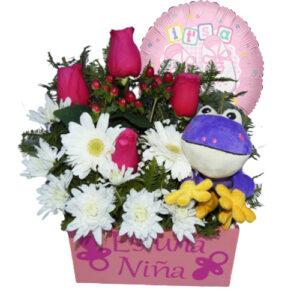 Flores a domicilio para nacimientos
