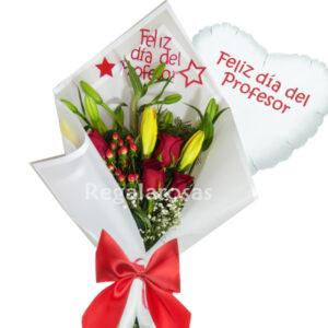 Flores día del profesor, flores a domicilio, envió de flores para profesor, día del profesor