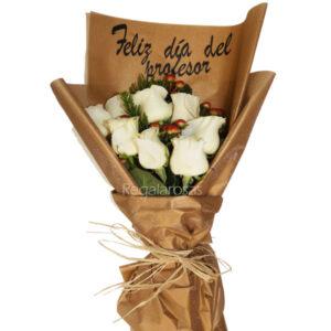 Flores día del profesor a domicilio